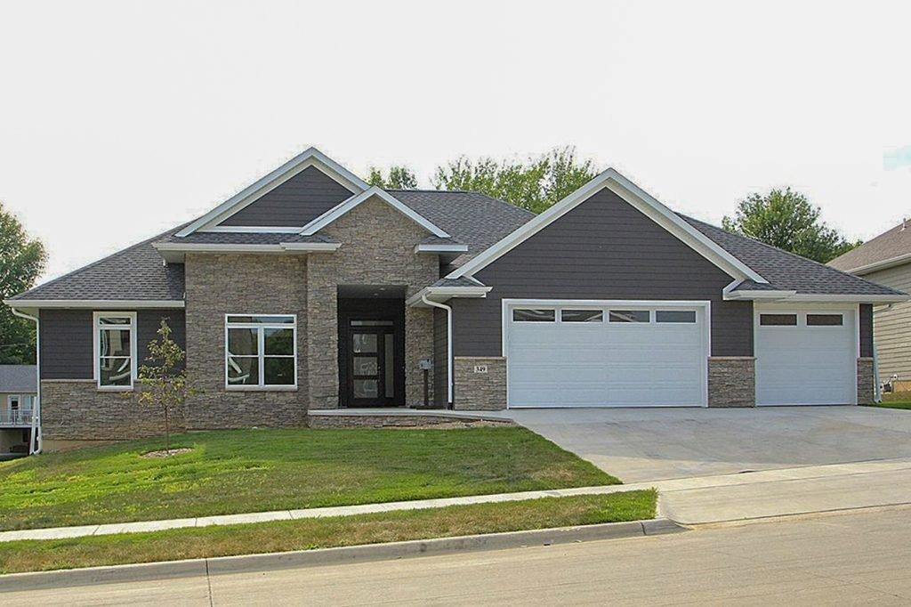 SGA Construction new modern home exterior