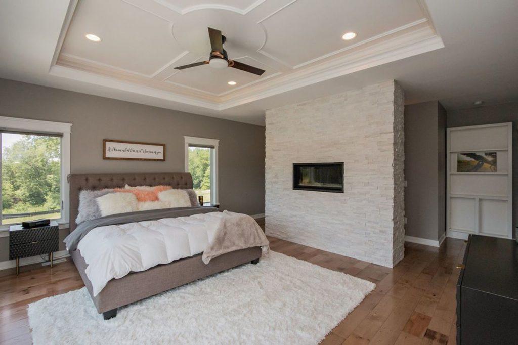 SGA Construction interior bedroom white