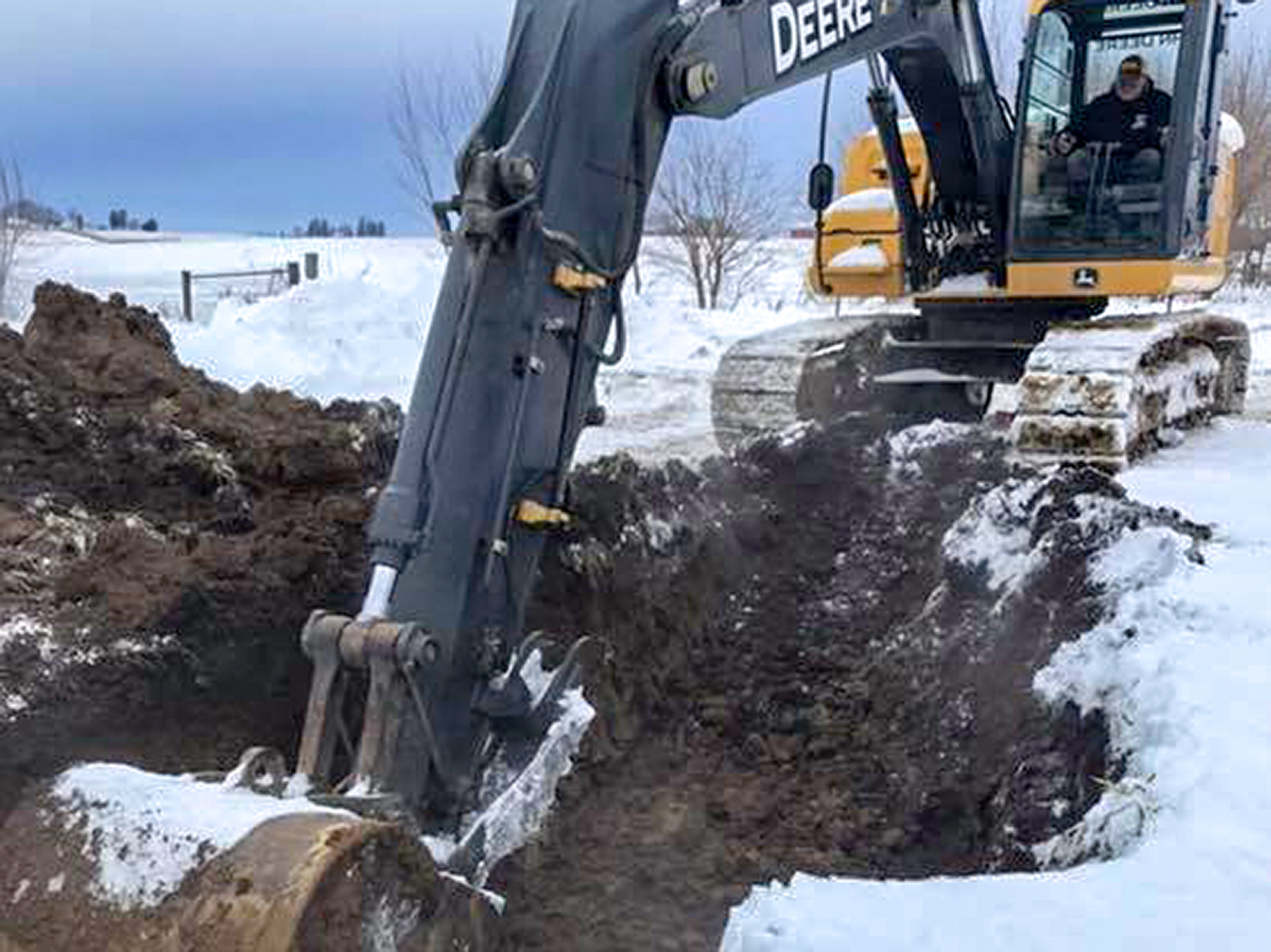 SGA Construction breaking ground on a new job